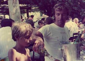 Adriano ed mdg bambino alle isole Margherita (cliccare per ingrandire)