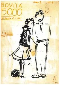 La copertina di Novità5000